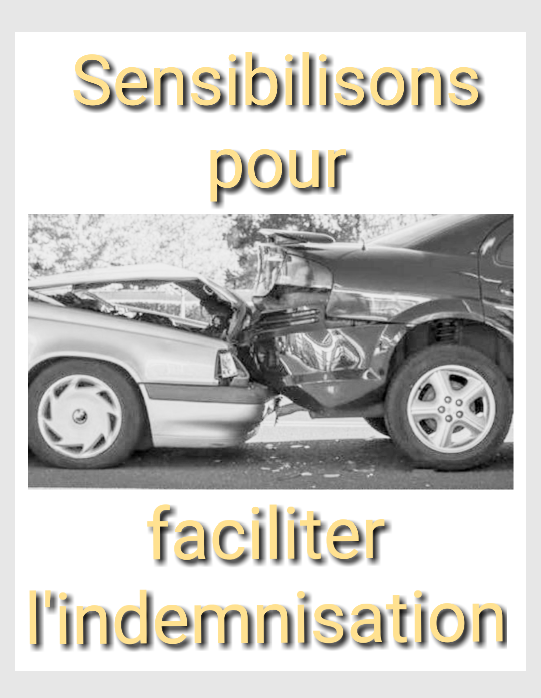 Sensibilisons indemnisation